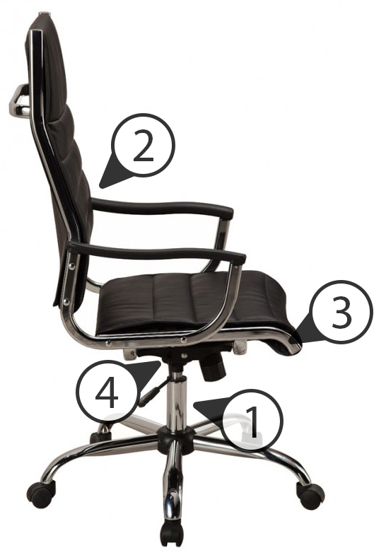 Устройство кресла