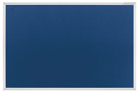 Текстильная доска SP, синяя / серая Magnetoplan 900x600 мм.