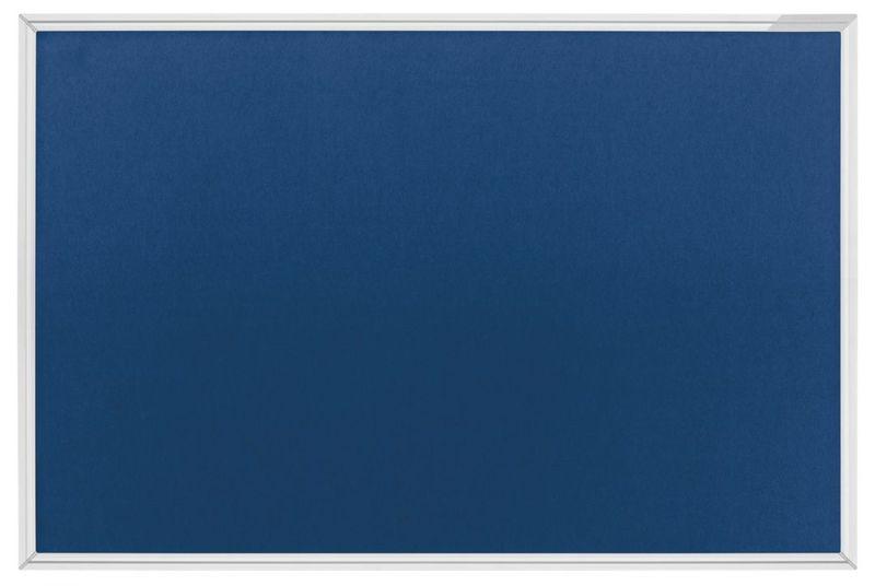 Текстильная доска SP, синяя / серая Magnetoplan 1200x900 мм.
