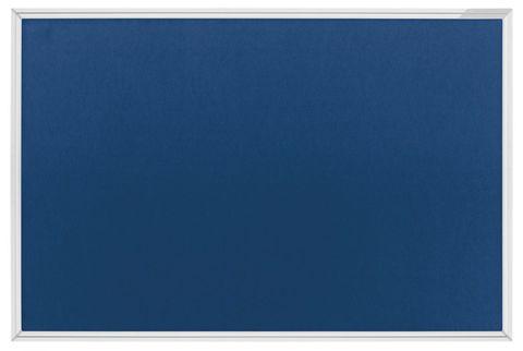 Текстильная доска SP, синяя / серая Magnetoplan 1500x1000 мм.