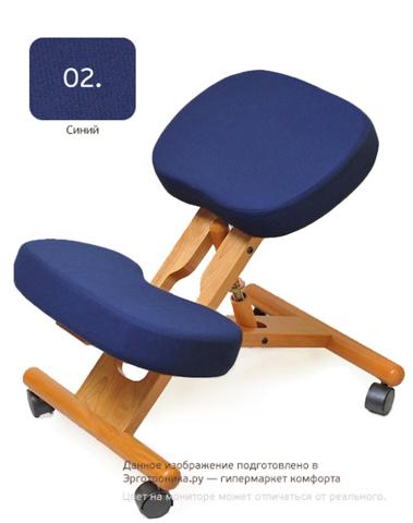 Стул с упором в колени Smartstool KW02 Синий цвет
