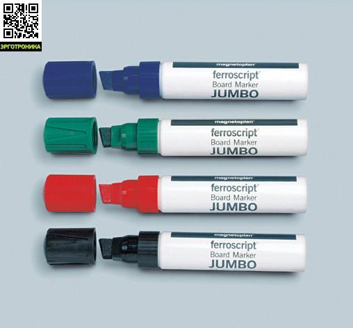 Набор из 4-х маркеров для бумажных блоков Magnetoplan