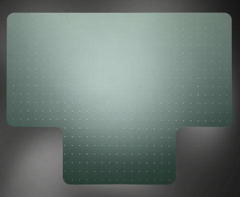 Эргоковрик для ковровых покрытий (PET, рифленый)