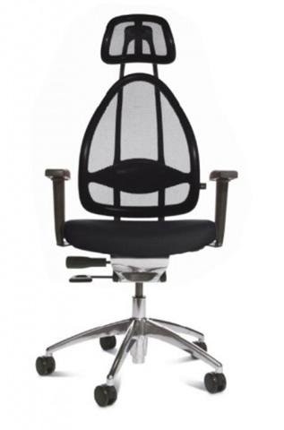 Эргономичное офисное кресло Open Art 10 chrome Черный
