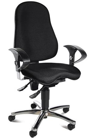 Эргономичное офисное кресло Sitness 10 Черный цвет