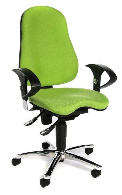 Эргономичное офисное кресло Sitness 10 Салатовый цвет