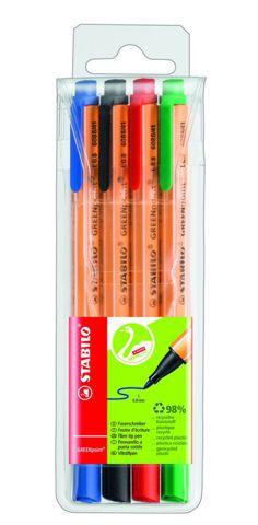 GREENpoint набор из 4-х разноцветных линеров