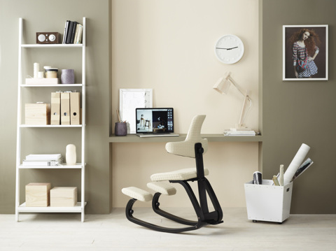Коленный стул со спинкой - Thatsit Balans