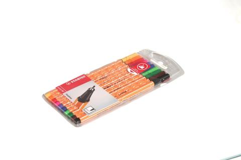 Набор капиллярных ручек Fineliner point 88 (10 цветов)