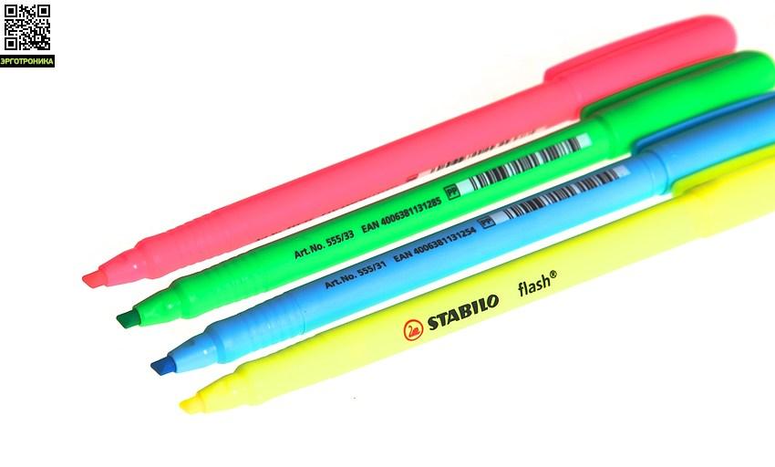 Набор текстовыделителей flash Highlighter (4 цв)