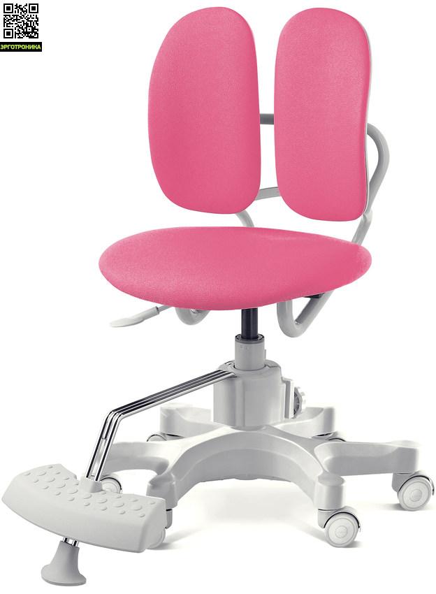 Ортопедическое детское кресло Duorest Kids Max Розовая эко-кожа SEP