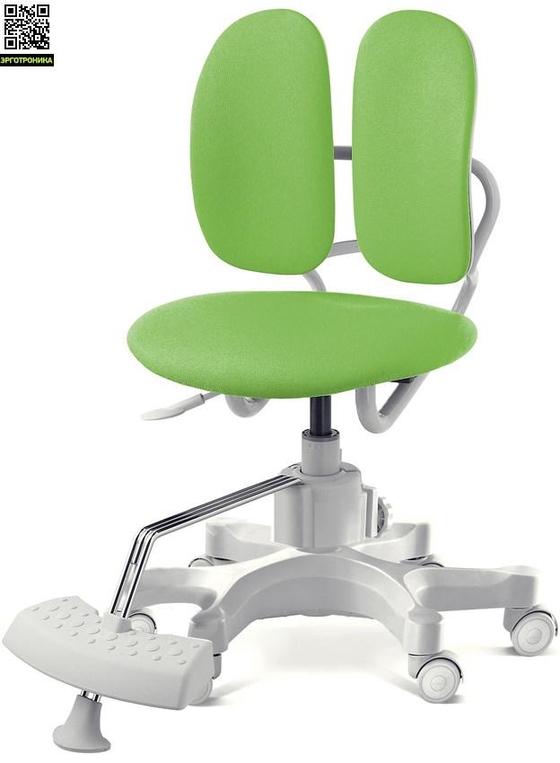 Ортопедическое детское кресло Duorest Kids Max Зеленая эко-кожа SEN