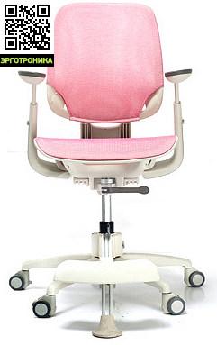 Ортопедическое детское кресло DuoFlex Junior Mesh Розовый цвет