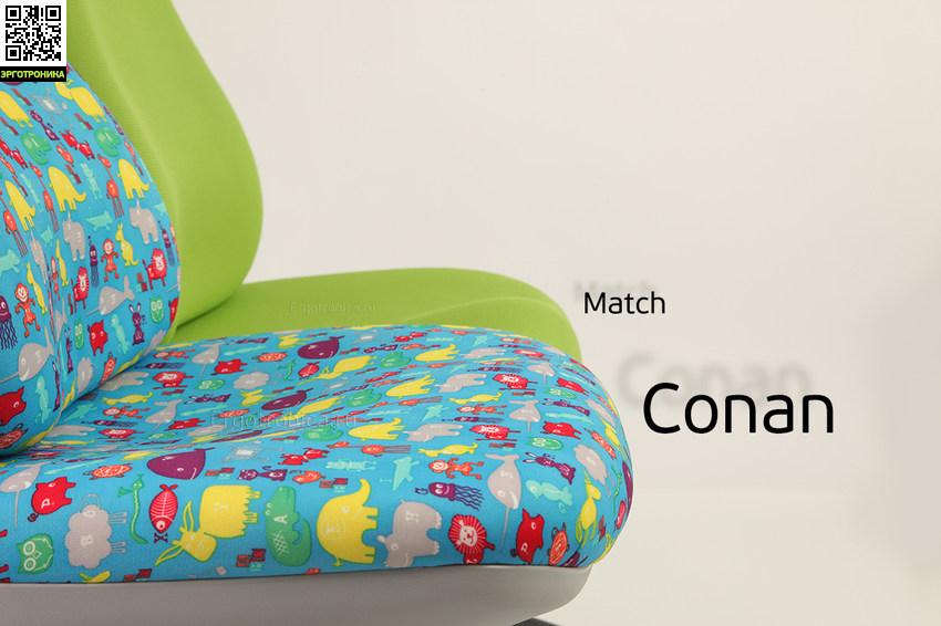 Растущее кресло Match Сравнение кресел Матч и Конан