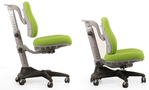 Растущее кресло Match два крайних положения кресла