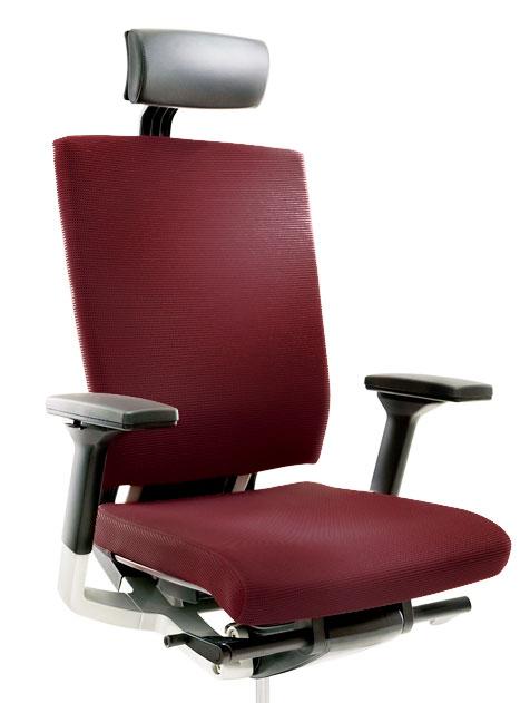 Эргономичное офисное кресло Fursys T 550 Бордовый цвет