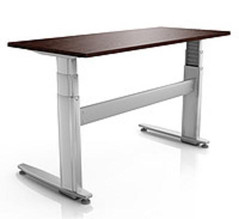 Регулируемый стол ErgoStol Duo Plus Венге