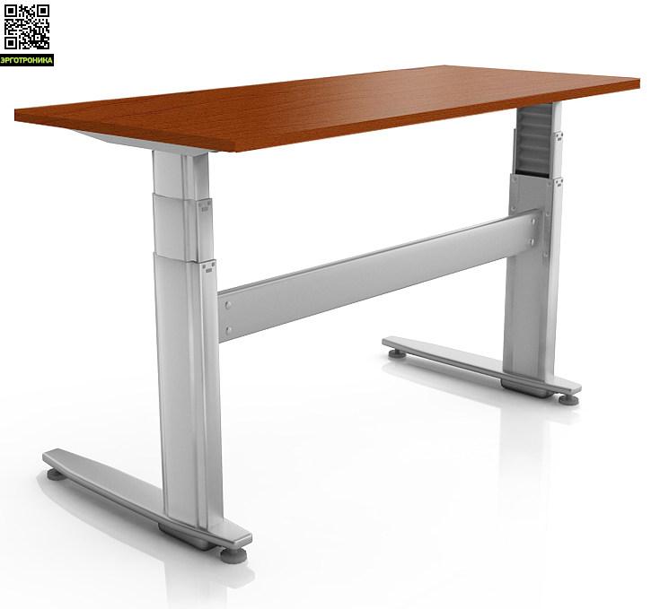 Регулируемый стол ErgoStol Duo Plus Вишня