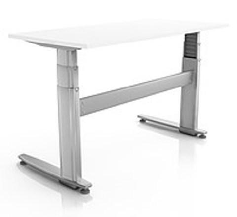 Регулируемый стол ErgoStol Duo Plus Белый
