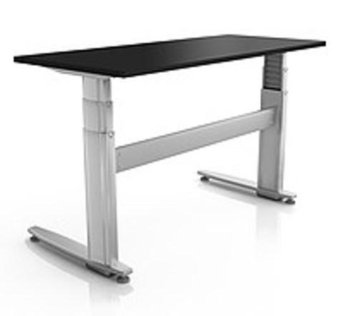 Регулируемый стол ErgoStol Duo Plus Черный
