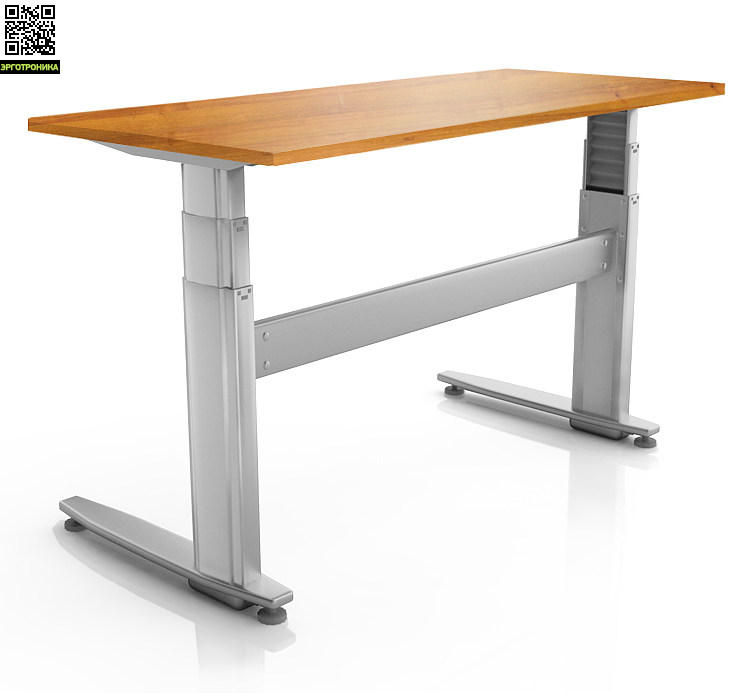 Регулируемый стол ErgoStol Duo Plus Орех