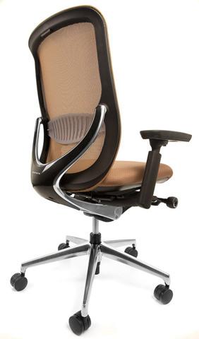 Офисное кресло сетка Zephyr Light Okamura