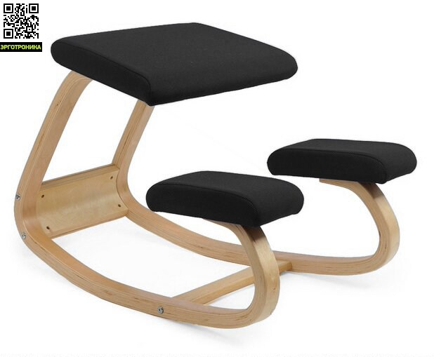 Smartstool BalanceКоленные стулья<br>Smartstool Balance – это коленный стул с подвижной основой. Перемещая центр тяжести можно сидеть в двух положениях попеременно. Наклон сидения смещает центр тяжести тела немного вперед и вес равномерно распределяется между тазом и голенями. Динамическая посадка более естественна для человеческого тела и укрепляет мышцы спины. Когда вы наклоняетесь вперед к рабочей поверхности стул наклоняется вместе с вами и спасает вас от возникновения сутулости.<br>