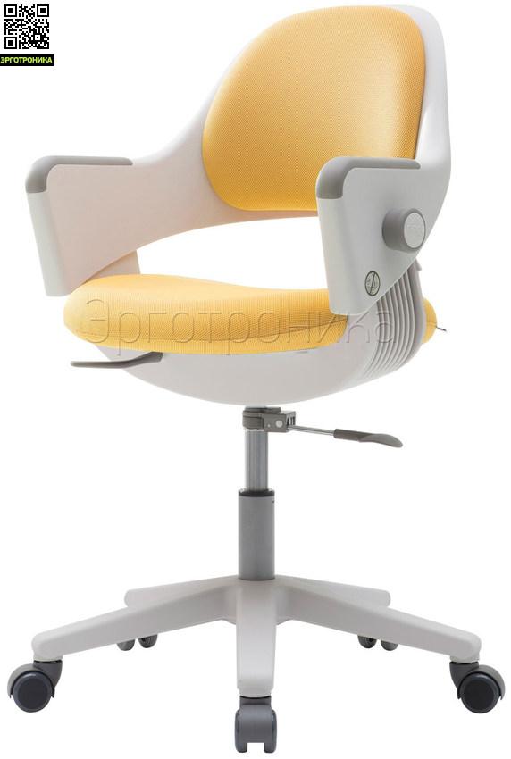 Детское эргономичное кресло Ringo Желтая обивка