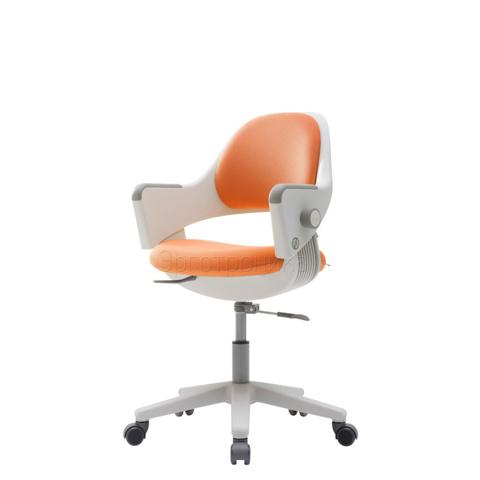 Детское эргономичное кресло Ringo Оранжевая обивка