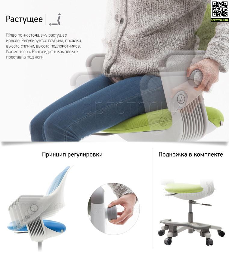 Детское эргономичное кресло «RINGO»
