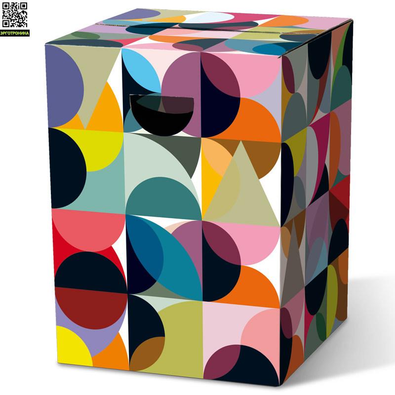 Табурет картонный SolenaДля дома<br>Картонный табурет легко и быстро собирается,  сидеть на нем удобно, как на обычном деревянном или пластиковом стуле. Также табурет можно использовать как журнальный или прикроватный столик. Для экономии жилого пространства можно с легкостью собирать его после использования. Материал: гофрированный картон                             <br>Размер: 32,5 х 32,5 х 44,4 см                                   <br>Выдерживает вес до 200 кг<br>