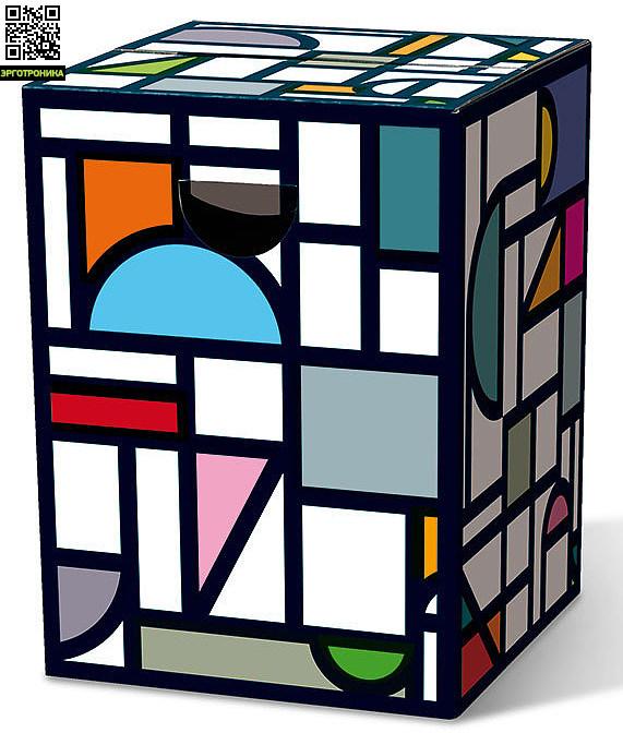 Табурет картонный FinestraДля дома<br>Картонный табурет легко и быстро собирается,  сидеть на нем удобно, как на обычном деревянном или пластиковом стуле. Также табурет можно использовать как журнальный или прикроватный столик. Для экономии жилого пространства можно с легкостью собирать его после использования. Материал: гофрированный картон                             <br>Размер: 32,5 х 32,5 х 44,4 см                                   <br>Выдерживает вес до 200 кг<br>