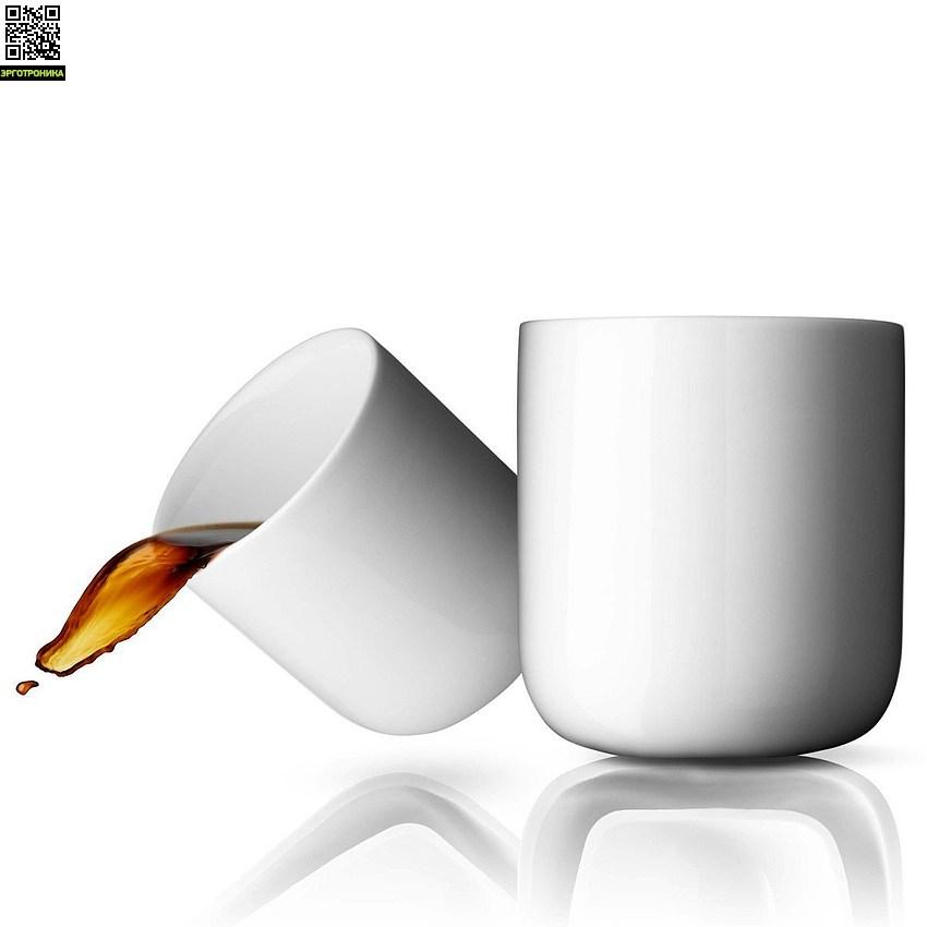 Набор термокружек New Norm низкие (2 шт)Для дома<br>Минималистичная по своему внешнему виду кружка является отражением нового стандарта термокружек - имеет изолирующую двойную стенку, которая сохраняет напитки горячими, но не обжигает руки.<br>Цвет белый (объем - 210 мл)<br>Дизайнер Norm Architects<br>