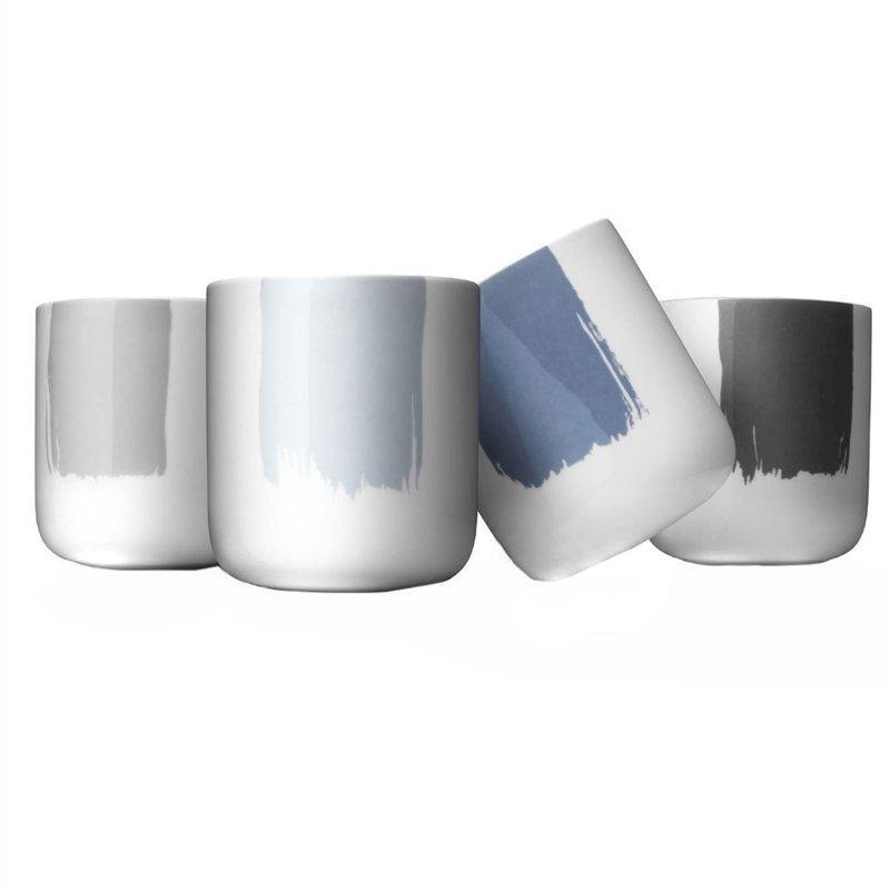 Набор термокружек New Norm с декором (4 шт)