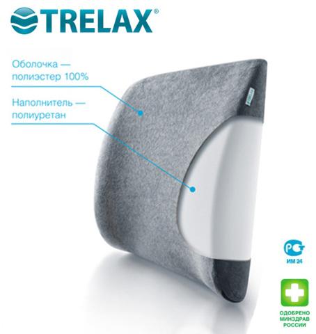 Ортопедическая подушка под спину AUTOBACK TRELAX