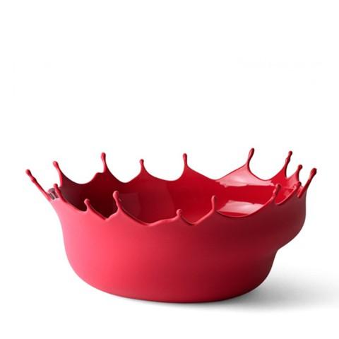 Блюдо Dropp ярко-красное