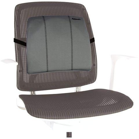 Подушка для кресла Fellowes Slimline серый