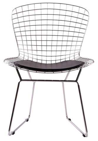 Стул Harry Bertoia Style Wire Side Chair