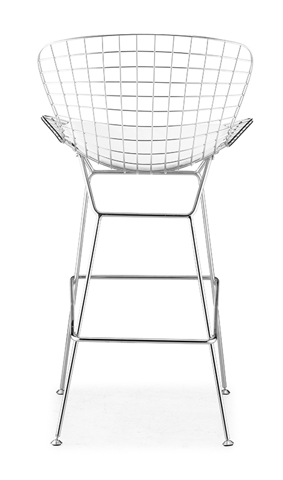 Барный стул Harry Bertoia Style Wire Side