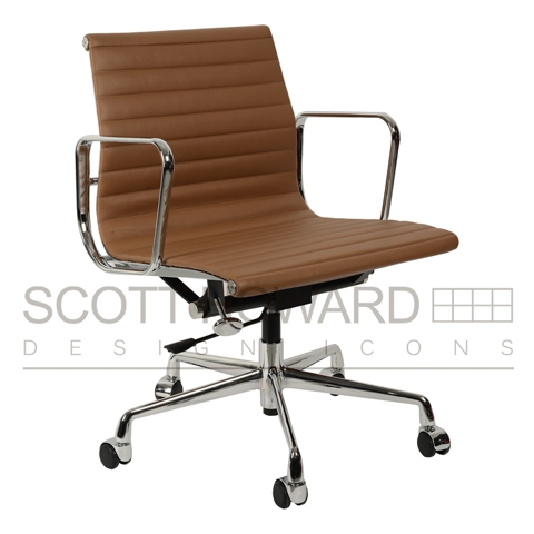 Кресло Eames Style Ribbed Office Chair EA 117