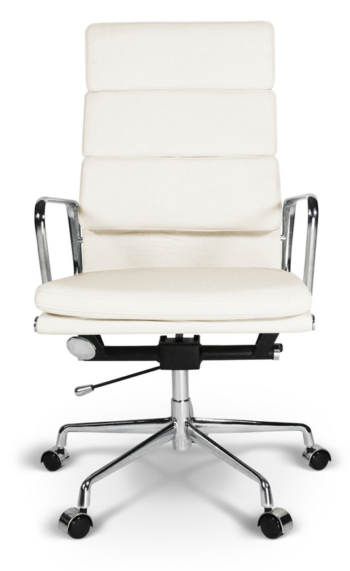 Кресло Eames Style HB Soft Pad Executive Chair EA 219