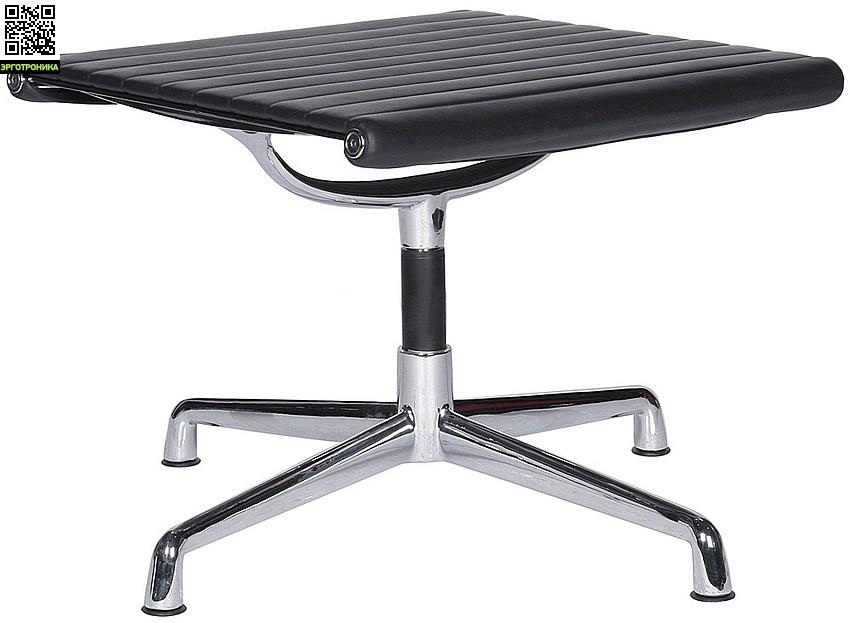 Кресло Eames Style Ribbed Lounge Chair & Ottoman EA124/EA125