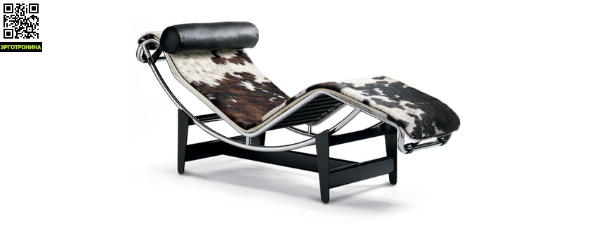 Кресло-шезлонг Le Corbusier Style Chaise Longue LC4