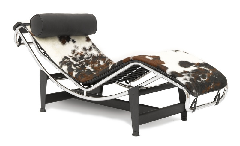 Кресло-шезлонг Le Corbusier Style Chaise Longue LC4