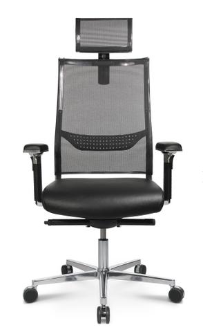 Эргономичное кожаное кресло руководителя New Aluart