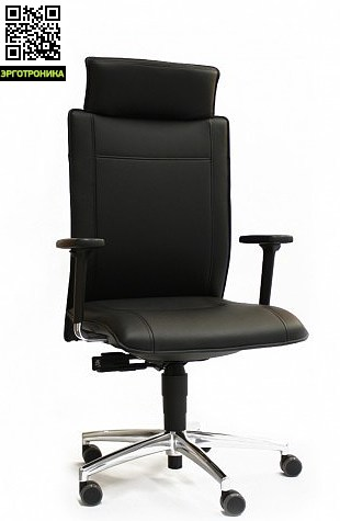 Эргономическое  кресло руководителя Cento MigliaЭргономичные кресла<br>Регулируемая поддержка поясницы, многофункциональные подлокотники, механизм Syncro®-Tension, регулируемая пружина, размер:57/70x70xh122-134, вес:30<br>