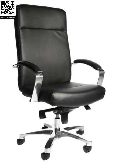 Эргономичное кресло руководителя MILAN 10TopStar<br>Эргономичное кресло руководителя. Высокая, удобная спинка основная часть которой выполнена из высококачественной кожи, а боковые и задняя части из искусственной кожи. Удобное, мягкое, экстра широкое сиденье выполнено из высококачественной кожи. В конструкции кресла используется специальный механизм качания мультиблок. Кресло комплектуется полированными,  алюминиевыми подлокотниками с накладками из натуральной кожи.<br>