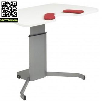 Эргономичный стол SALLI COMPACTСтолы<br>Стол Salli Compact оснащен электронным механизмом регулировки высоты. Высота регулируется в пределах 66-118 см.Размер столешницы 118х70х1,8 см. Эргономичная столешница с выемкой для удобной поддержки рук и плеч.Salli Compact предназначена для использования в малых офисах или дома, может использоваться также как компьютерный стол.<br>