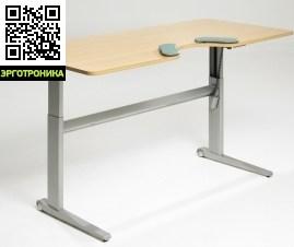 Эргономичный стол SALLI MANAGERСтолы<br>Стол Salli Manager оснащен электронным механизмом регулировки высоты. Высота регулируется в пределах 66-118 см.Размер столешницы 190х90х2,3 см. В эргономичной столешнице есть глубокая выемка для тела, которая поддерживает руки и плечи.Salli Manager это отличный выбор для оснащения основных рабочих мест в офисе или дома. Столешница большого размера позволяет установить на нее компьютер и разложить бумаги.<br>