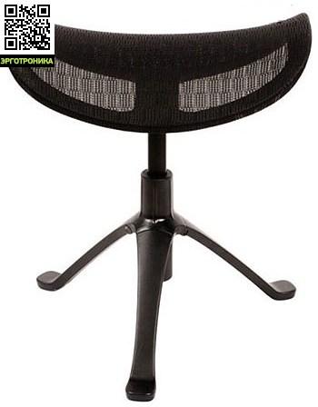 Подставка для ног Ottoman серии ExpertДля дома<br>Подставка для ног комбинируется с креслами Expert.<br>Уменьшите нагрузку за ноги! Позвольте себе работать с комфортом.<br>В складскую программу входят подставки для ног, изготовленные в светло сером и чёрном пластике, сетка чёрная и серая.<br>